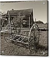 Country Classic Monochrome Acrylic Print