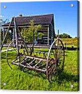 Country Classic Paint Filter Acrylic Print