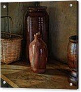Country Cupboard Acrylic Print