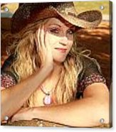 Country Girl Acrylic Print