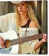 Country Musician Acrylic Print