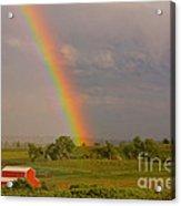 Country Rainbow Acrylic Print