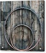 Country Rings Acrylic Print by Susan Candelario
