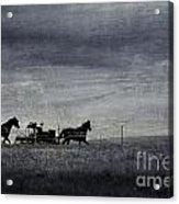 Country Wagon Acrylic Print
