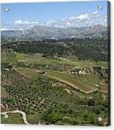 countryside in Spain Acrylic Print
