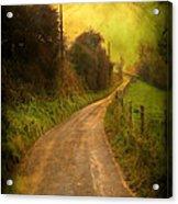 Countryside Road Acrylic Print