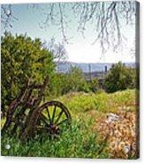 Countryside Wagon Acrylic Print