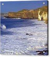 County Antrim, Ireland Seascape With Acrylic Print