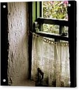 County Kerry, Ireland Cottage Window Acrylic Print