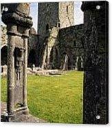 County Kilkenny, Ireland Jerpoint Abbey Acrylic Print