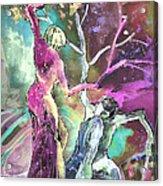 Coup De Grace Acrylic Print