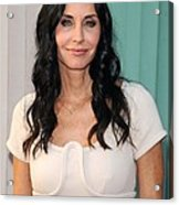 Courteney Cox In Attendance For Atas Acrylic Print by Everett