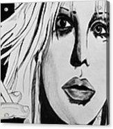Courtney Love Acrylic Print