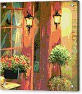 Courtyard Acrylic Print by David Alvarez