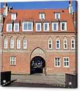 Cow Gate In Gdansk Acrylic Print