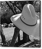 Cowboy Fashion Acrylic Print
