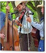 Cowboy Music Acrylic Print