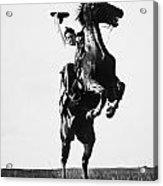 Cowboys, 1909 Acrylic Print