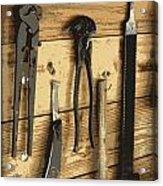 Cowboy's Tools Acrylic Print