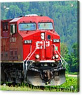 Cp Coal Train Acrylic Print