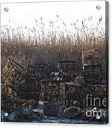 Crab Traps  Acrylic Print