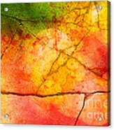 Cracked Kaleidoscope Acrylic Print