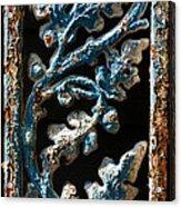 Crackled Coats Acrylic Print