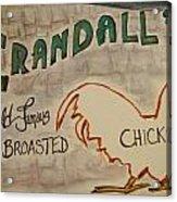 Crandalls Acrylic Print