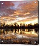 Crane Hollow Sunrise Boulder County Colorado Acrylic Print