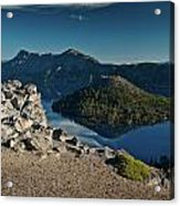 Crater Lake Afternoon Acrylic Print
