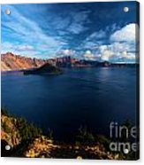 Crater Lake Minus Trees Acrylic Print