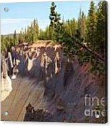 Crater Lake Pinnacles Acrylic Print