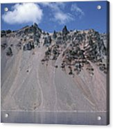 Crater Lake Volcanic Wall, Usa Acrylic Print by Dr Juerg Alean