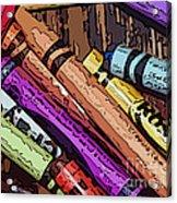 Crayola 5 Acrylic Print