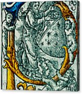 Creation Giunta Pontificale 1520 Acrylic Print