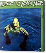 Creature From The Black Lagoon, 1954 Acrylic Print by Everett