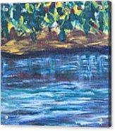 Creek In Sarasota Acrylic Print