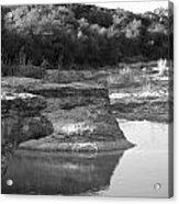 Creek In Texas Acrylic Print