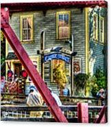 Creek Street - Ketchikan Alaska Acrylic Print