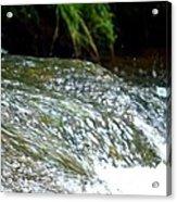 Creek Water Splash Acrylic Print