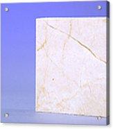 Crema Marfil Marble Acrylic Print