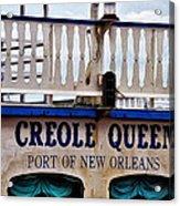 Creole Queen Acrylic Print