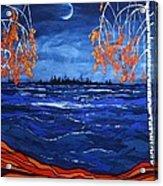 Crescent Moon Acrylic Print