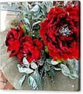 Crimson Desire Acrylic Print