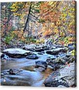 Crisp Autumn Air Acrylic Print by JC Findley