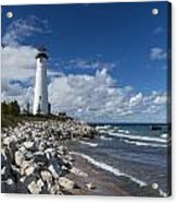 Crisp Point Lighthouse 11 Acrylic Print