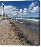 Crisp Point Lighthouse 13 Acrylic Print