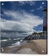 Crisp Point Lighthouse 5 Acrylic Print