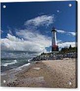 Crisp Point Lighthouse 6 Acrylic Print