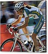 Criterium Bicycle Race 2 Acrylic Print